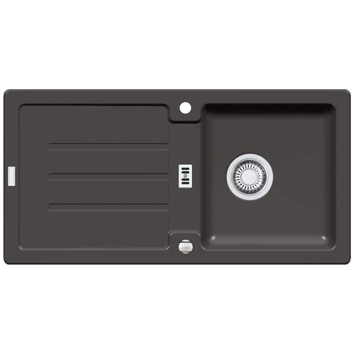 franke sink strata stg 614 graphite with eccenter valve cutout size 840 x 4 ebay. Black Bedroom Furniture Sets. Home Design Ideas