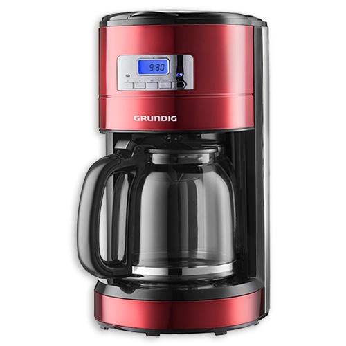 kaffeemaschine red sense 12 tassen km 6330 grundig filterkaffeemaschine ka. Black Bedroom Furniture Sets. Home Design Ideas