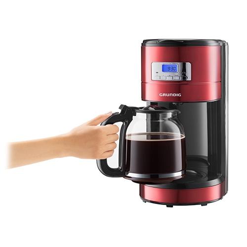 kaffeemaschine red sense 12 tassen km 6330 grundig. Black Bedroom Furniture Sets. Home Design Ideas