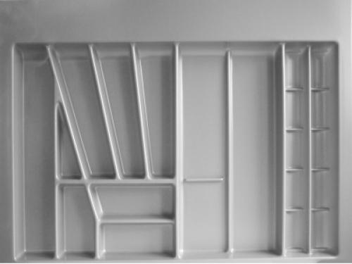 besteckeinsatz schubladeneinsatz f r 90 und 100 cm breite schubladen b 801 96 ebay. Black Bedroom Furniture Sets. Home Design Ideas