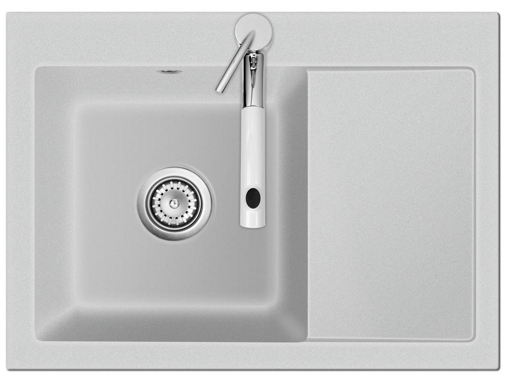 fl chenb ndige sp le mera 70 f alu mit becken links u handbet tigung ebay. Black Bedroom Furniture Sets. Home Design Ideas