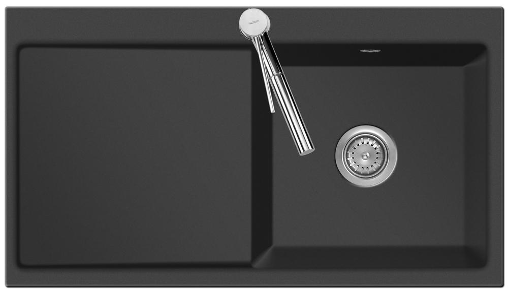sp le keradomo mera 90 lava becken rechts mit handbet tigung ebay. Black Bedroom Furniture Sets. Home Design Ideas