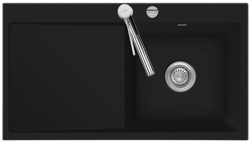 sp le keradomo mera 90 schiefer becken rechts mit excenterbedienung ebay. Black Bedroom Furniture Sets. Home Design Ideas