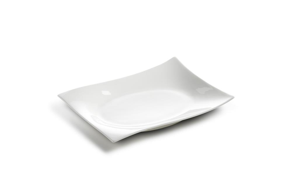 10er set platte teller motion eckig 20 x 15 cm. Black Bedroom Furniture Sets. Home Design Ideas