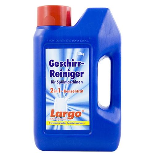 10er SET Geschirr Reiniger 2in1  Konzentrat Pulver 1,5kg  ~ Geschirrspülmaschine Reiniger