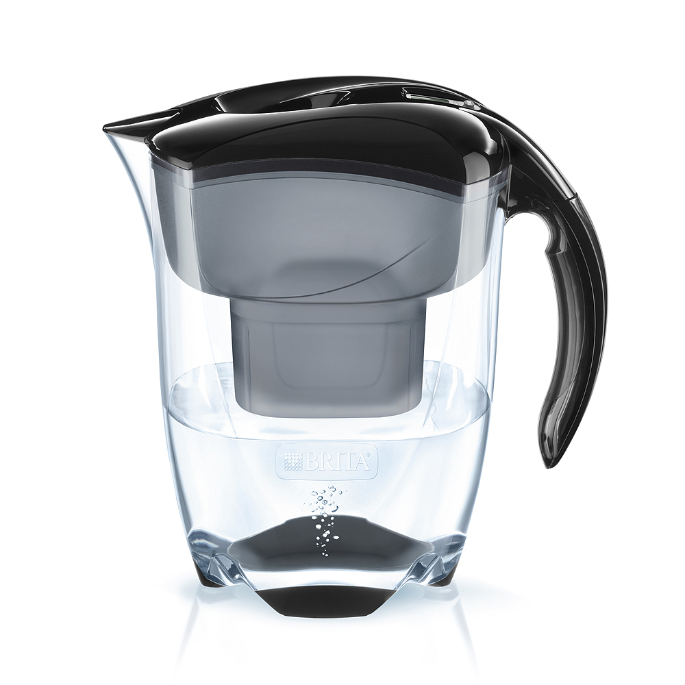 brita filtre eau elemaris xl 3 5 litre noir avec maxtra cartouche ebay. Black Bedroom Furniture Sets. Home Design Ideas