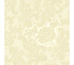 Servietten Lace embossed ivory 33 x 33 cm ppd 007254