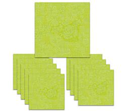 150 Servietten Lace embossed lime 33 x 33 cm ppd 007300