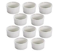 10er SET Ofenform / Ramekin Ø 8,5 cm 150 ml