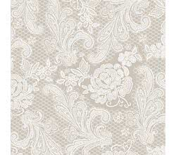 Servietten Lace Royal embossed taupe 33 x 33 cm ppd 1331341
