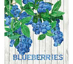 Servietten Harvest Blueberries 33 x 33 cm ppd 1332395