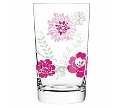 Softdrinkglas Carolin Körner 2015 Blumen Everyday Darling