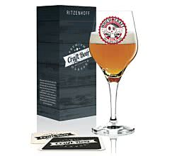 Ritzenhoff CRAFT BEER Design Bierglas 0,25 l, Christine Radel (Beer Potion), Frühjahr 2019, 3370012