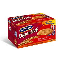 Mc Vities Digestive The Original 250 g / Weizenkeks mit Vollkorn