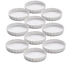 10er SET KITCHEN Quiche Form 13 cm von Maxwell & Williams / Quicheform / Ofenform