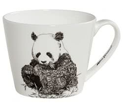 Maxwell & Williams DX0512 MARINI FERLAZZO Becher breit GIANT PANDA, Premium-Keramik, in Geschenkbox