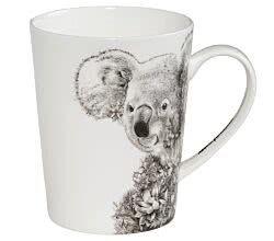 Maxwell & Williams DX0516 MARINI FERLAZZO Becher hoch KOALA, Premium-Keramik, in Geschenkbox