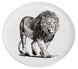 Maxwell & Williams DX0531 MARINI FERLAZZO Teller 20 cm AFRICAN LION, Premium-Keramik, in Geschenkbox