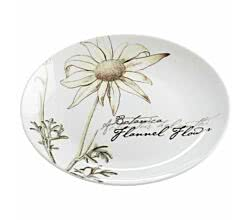 Teller Flanell BOTANIC 15 cm von Maxwell & Williams - Bone China