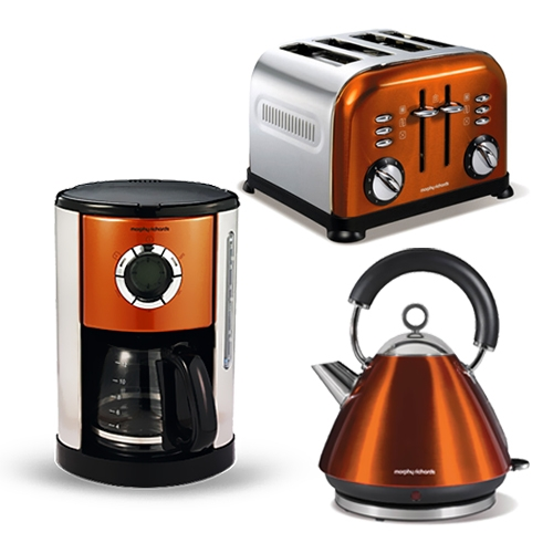 kaffeemaschine toaster wasserkocher accents maron set 3 tlg poliertem e ebay. Black Bedroom Furniture Sets. Home Design Ideas