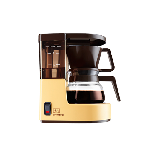 melitta kaffeemaschine aromaboy f r 2 tassen in beige. Black Bedroom Furniture Sets. Home Design Ideas