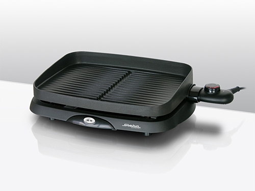 elektrischer tischgrill steba vg 90 compact schwarz grill ebay. Black Bedroom Furniture Sets. Home Design Ideas