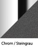 Chrom-Steingrau